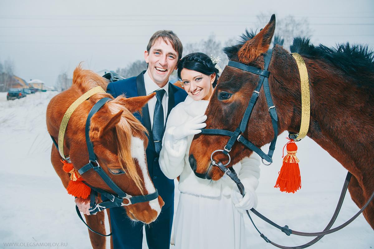 свадебный фотограф в Казань, свадебные фотографии зимой